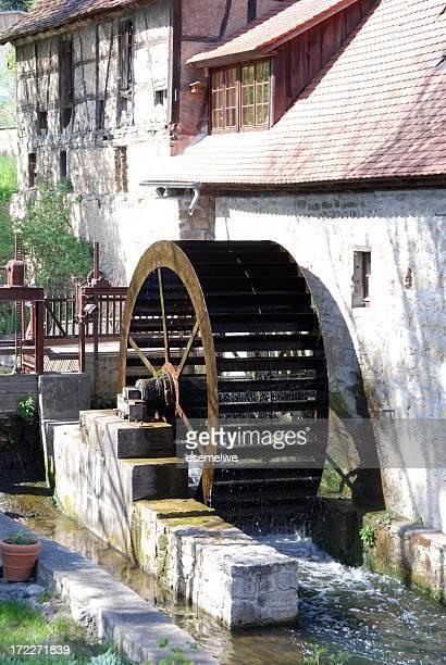 water mill - mulino ad acqua foto e immagini stock