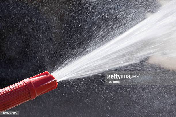 water nozzle: spraying
