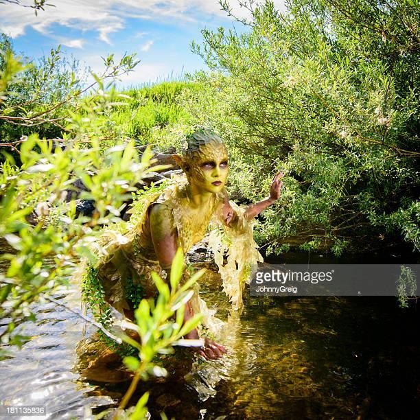 acqua ninfa - mitologia greca foto e immagini stock