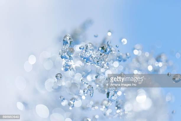 Water of Fountain Splashing