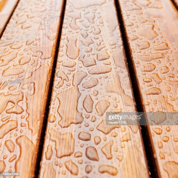 Water On Wood