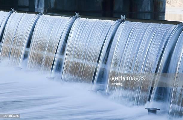 Barrage de l'eau sur le 3