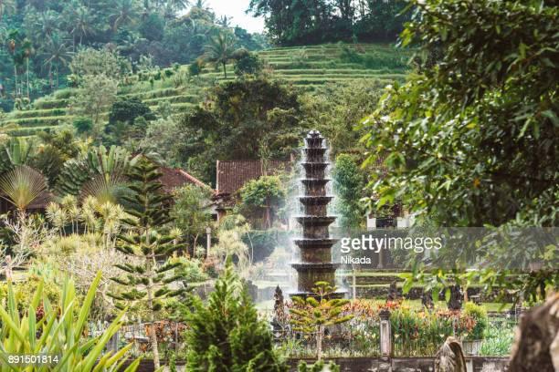 Wasser Palast von Tirta Gangga in East-Bali
