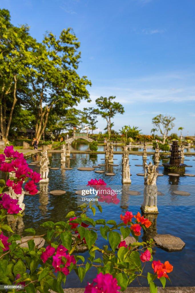 Water Palace Tirta Ganga Bali Island Indonesia Stock Photo Getty