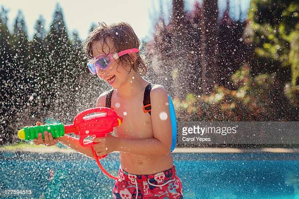 Water pistol fun