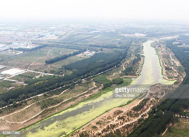 Water pollution and air pollution in Beijing
