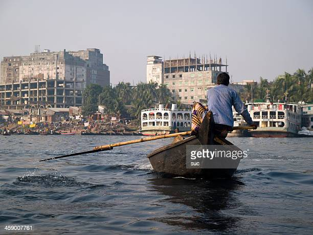 water pollution in bangladesh - bangladeshi culture stock pictures, royalty-free photos & images