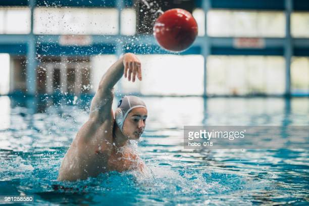 water polo action - water polo stock pictures, royalty-free photos & images