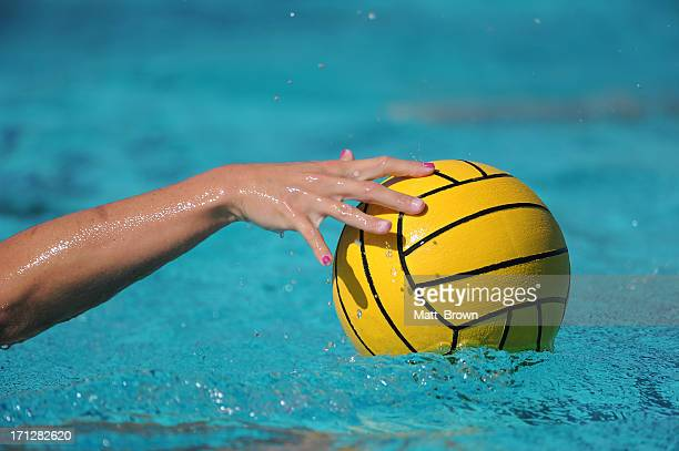 water polo ball - water polo stock pictures, royalty-free photos & images