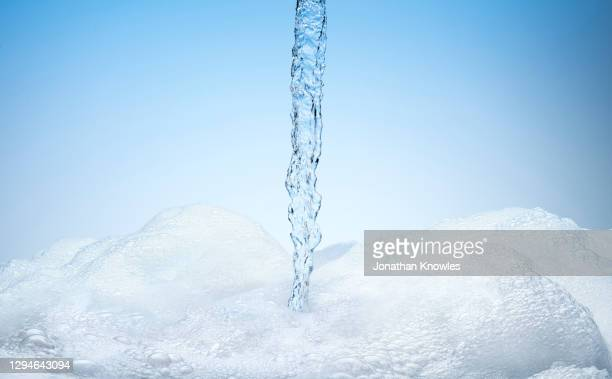 water pouring into bubbles - empty stock pictures, royalty-free photos & images