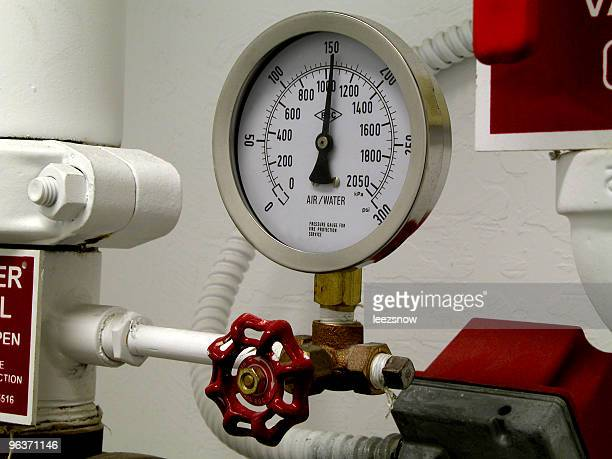 Water Pressure Gauge Close-up