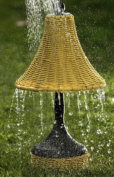 Water proof rattan outdoor lamp from frontgate pictures getty images water proof rattan outdoor lamp from frontgate workwithnaturefo
