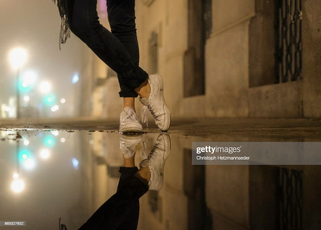 Water puddle : Stock Photo