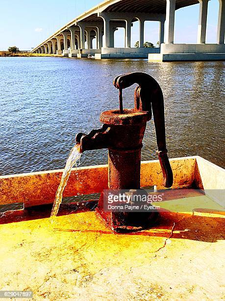Water Pump By River