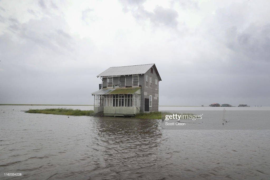 Tropical Storm Barry Drenches Southern Louisiana : News Photo