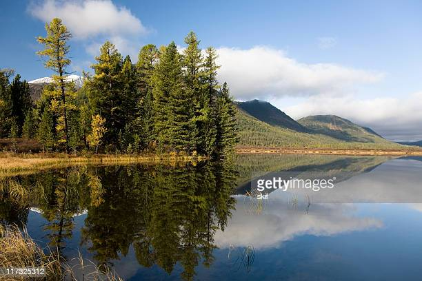 water reflection - krasnoyarsk stock pictures, royalty-free photos & images