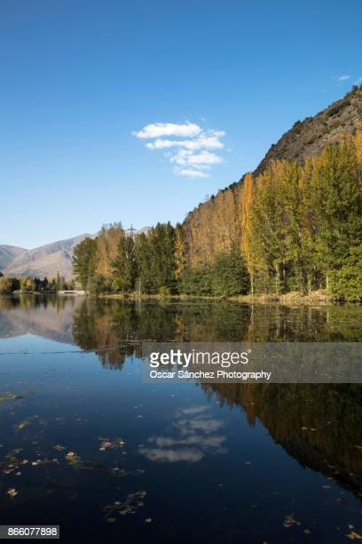 water reflection - reflection lake stock photos and pictures