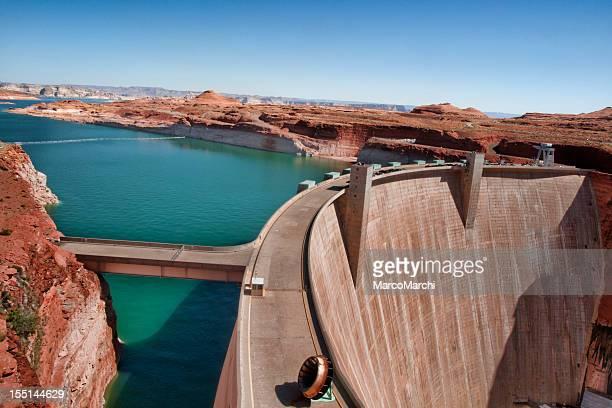 Water Reservoir on River