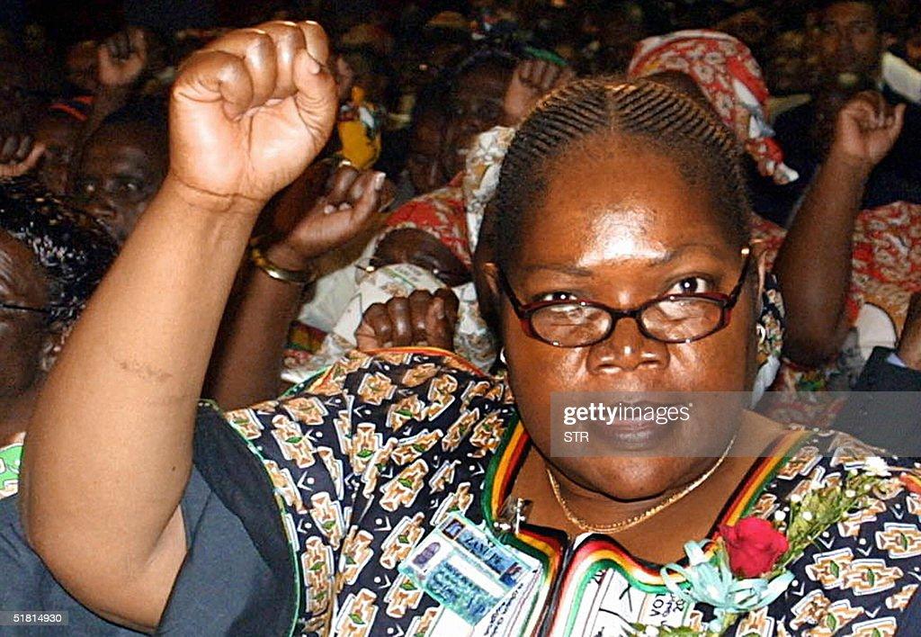 Water Resources Minister Joyce Mujuru, t : News Photo