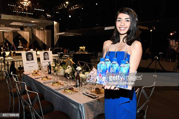 Water seen at the SAGAFTRA Auction Display and The 23rd Annual Screen Actors Guild Awards behind the scenes event on January 26 2017 in Los Angeles...