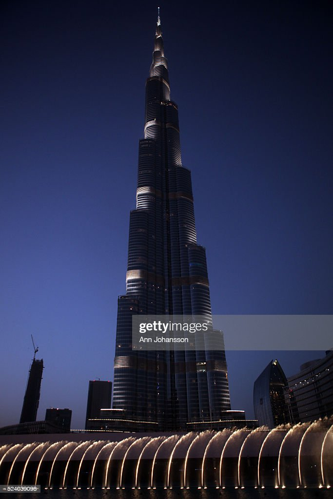 Dubai Burj Khalifa : News Photo
