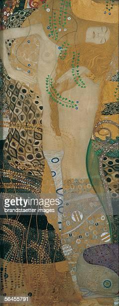 Water Snakes I also Friends I D139 Oil/Canvas Around 1904 [Wasserschlangen I auch Feundinnen I D139 oel/Lwd Um 1904]