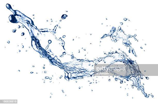 water splash - water stock pictures, royalty-free photos & images