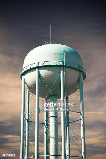 water storage tank - fargo north dakota stock pictures, royalty-free photos & images