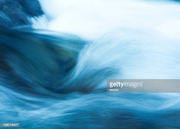 water stream - flowing water stock pictures, royalty-free photos & images