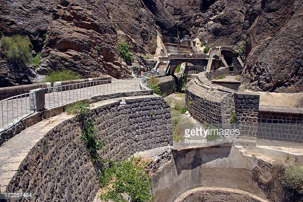 water tanks of aden - aden stock pictures, royalty-free photos & images