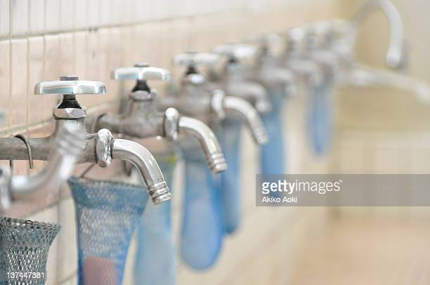 Water taps and soaps