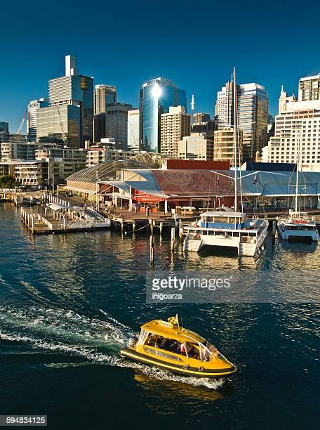 Water taxi, Darling Harbor, Sydney, Australia