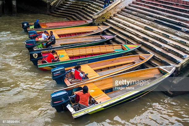 Water taxi drivers Brunei