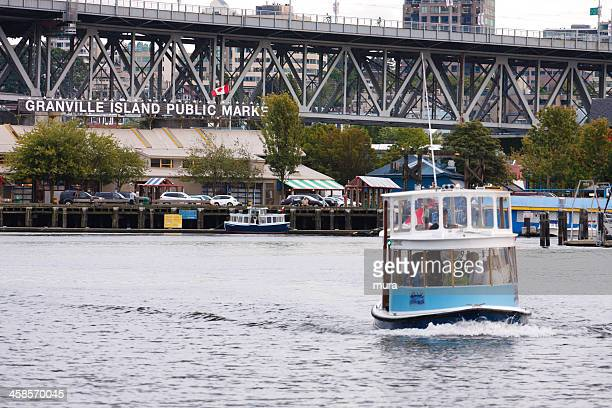Water taxi from Granville Island in Vancouver