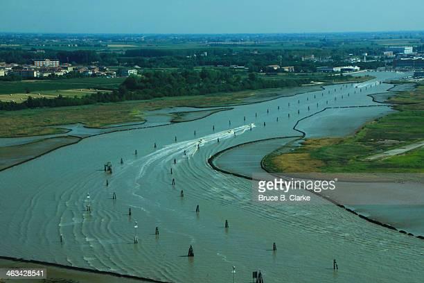 Water Taxis on the Venetian Lagoon