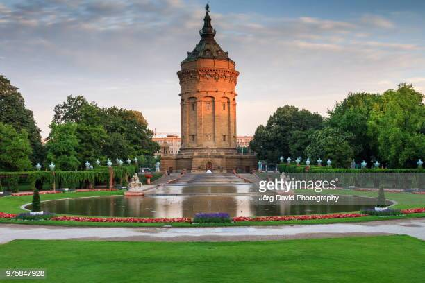 Water Tower at daytime, Mannheim, Germany