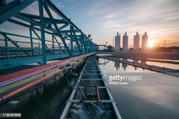 water treatment plant - lençol freático imagens e fotografias de stock