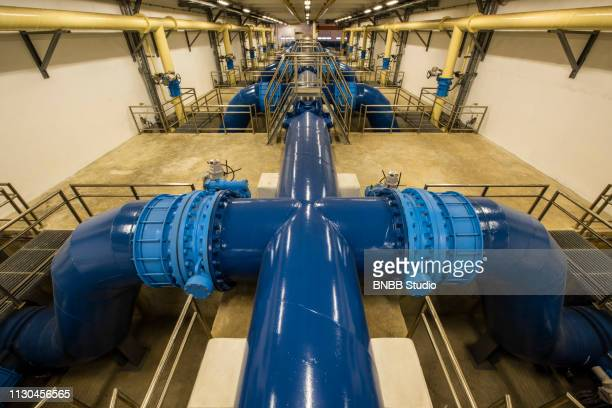 water treatment plant - water pump stock pictures, royalty-free photos & images