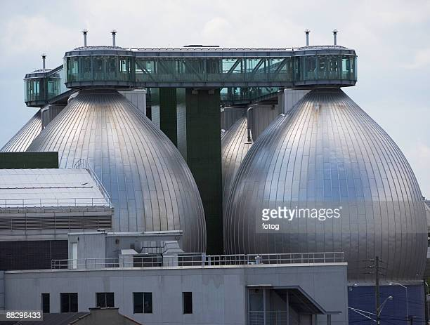 Water treatment tanks