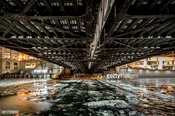 water under the bridge - ken ilio stock pictures, royalty-free photos & images