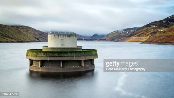 Water Valve Tower At Megget Reservoir, The Borders, Scotland