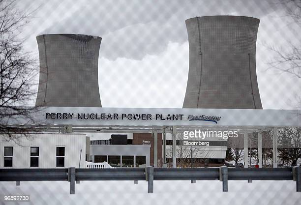 Water vapor is emitted from the cooling towers of the FirstEnergy Corp Perry Nuclear Generating Station in Perry Ohio US on Thursday Feb 11 2010...