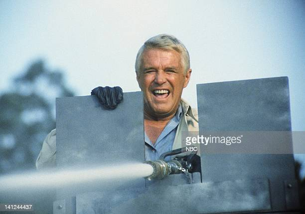 TEAM Water Water Everywhere Episode 10 Pictured George Peppard as John 'Hannibal' Smith Photo by NBCU Photo Bank