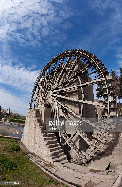 water wheel hama syria