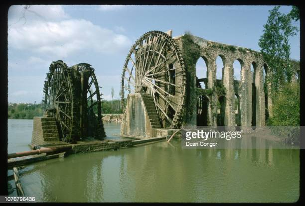 Water Wheels on Orontes River