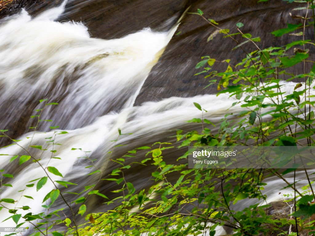 Waterall in Upper Michigan : Foto de stock