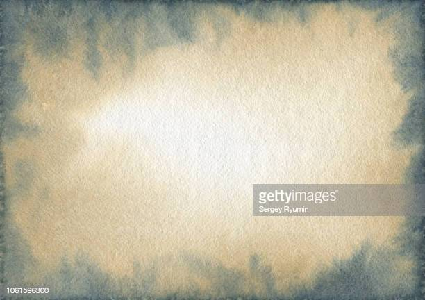 watercolor abstract background - vignettierung stock-fotos und bilder