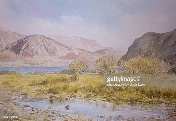 Watercolour of Ennerdale Water