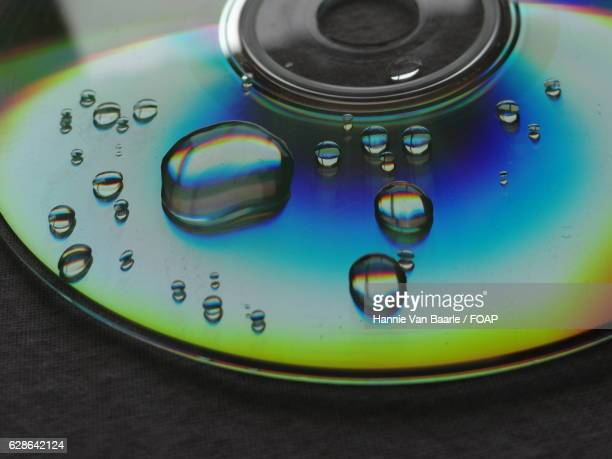 Waterdrop on musical cd