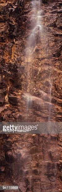 waterfall and rock - timothy hearsum stock pictures, royalty-free photos & images